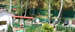 Biergarten im Ferienpark Waldperle
